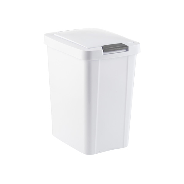 touch top trash cans the container store. Black Bedroom Furniture Sets. Home Design Ideas