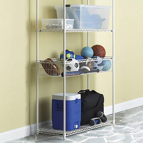 InterMetro Basket Shelf Solution