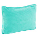 Teal Travel Memory Cloud Pillow