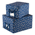 Scattered Dots Fabric Storage Box by reisenthel