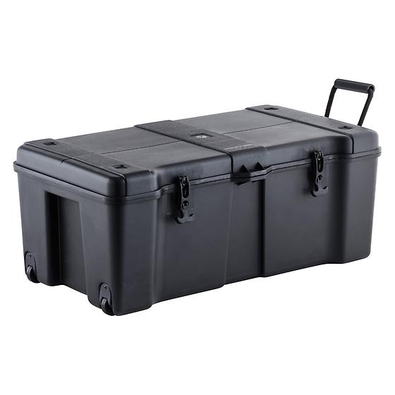 Black Ultra Storage Locker With Wheels The Container Store