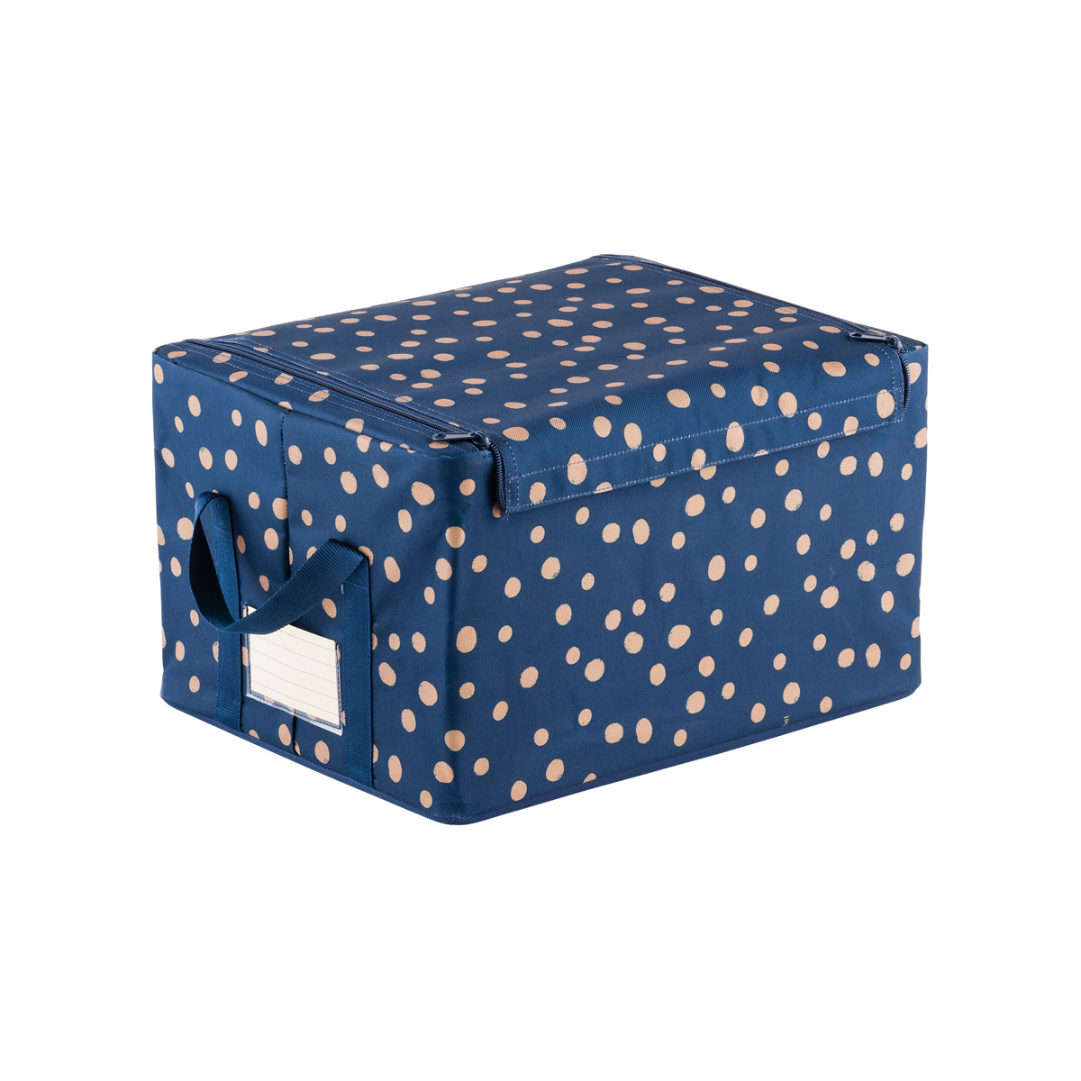 Scattered dots fabric storage box by reisenthel the for Fabric storage