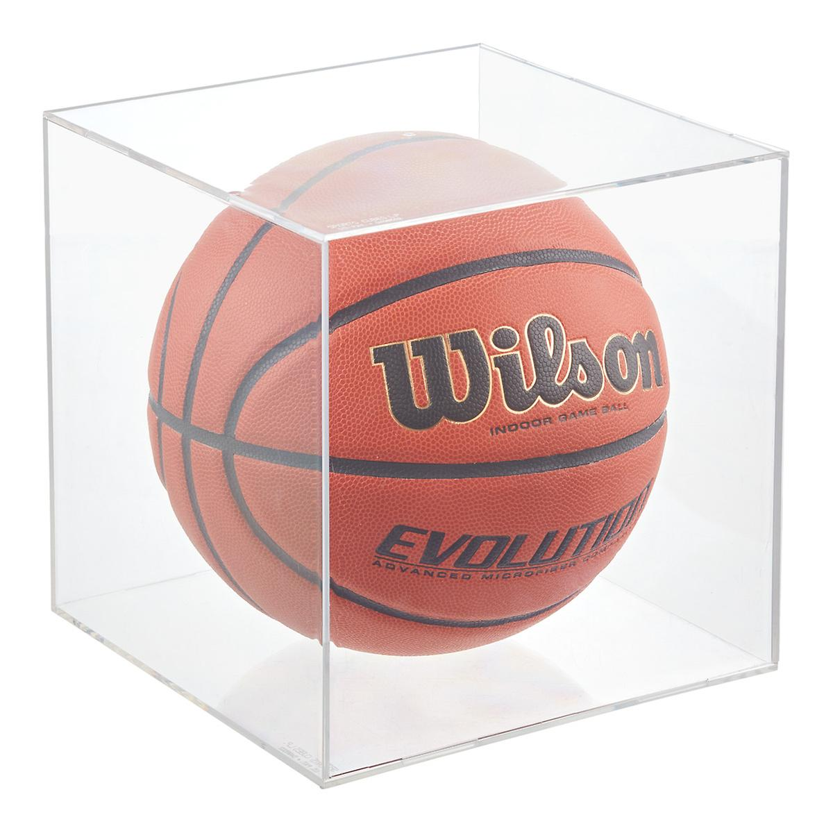 Basketball & Soccer Ball Display Cube