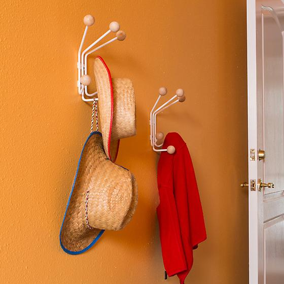 Bill 6-Hook Wall-Mounted Rack