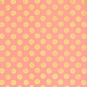 Coral & Gold Dots Recycled Gift Wrap Sheets