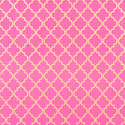 Marrakesh Pink & Gold Recycled Gift Wrap Sheets