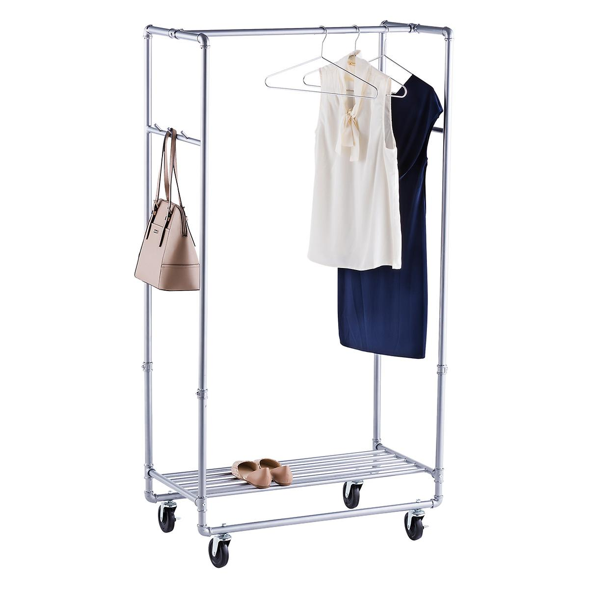 Industrial Pipe Clothes Rack The Container Store