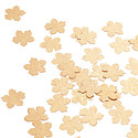 Gold Confetti Flowers