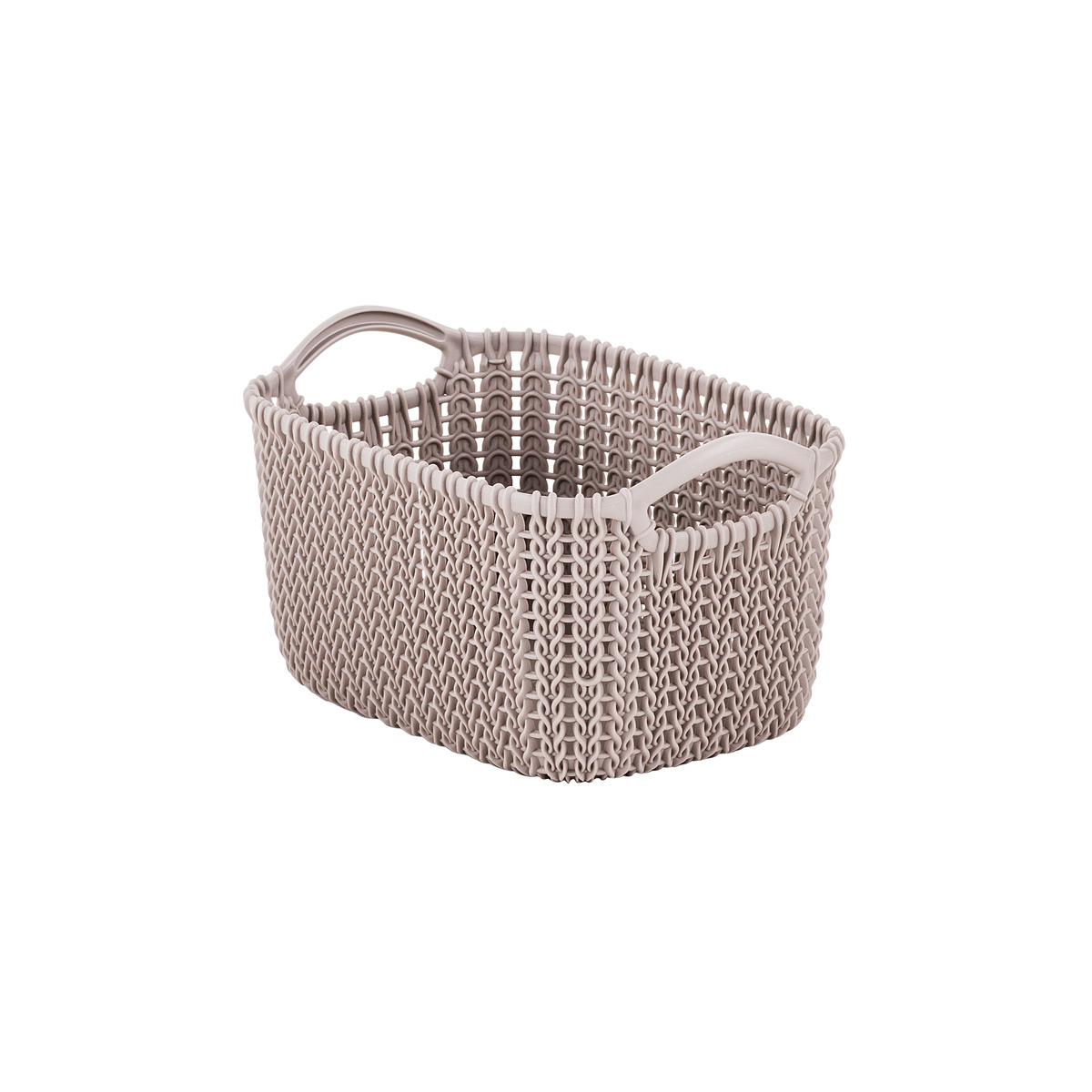Curver Sand Knit Storage Baskets: The Container Store