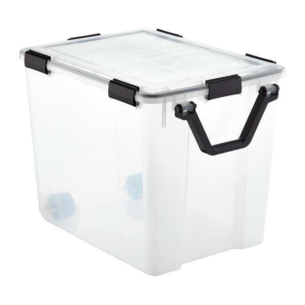 103 qt. Weathertight Tote with Wheels