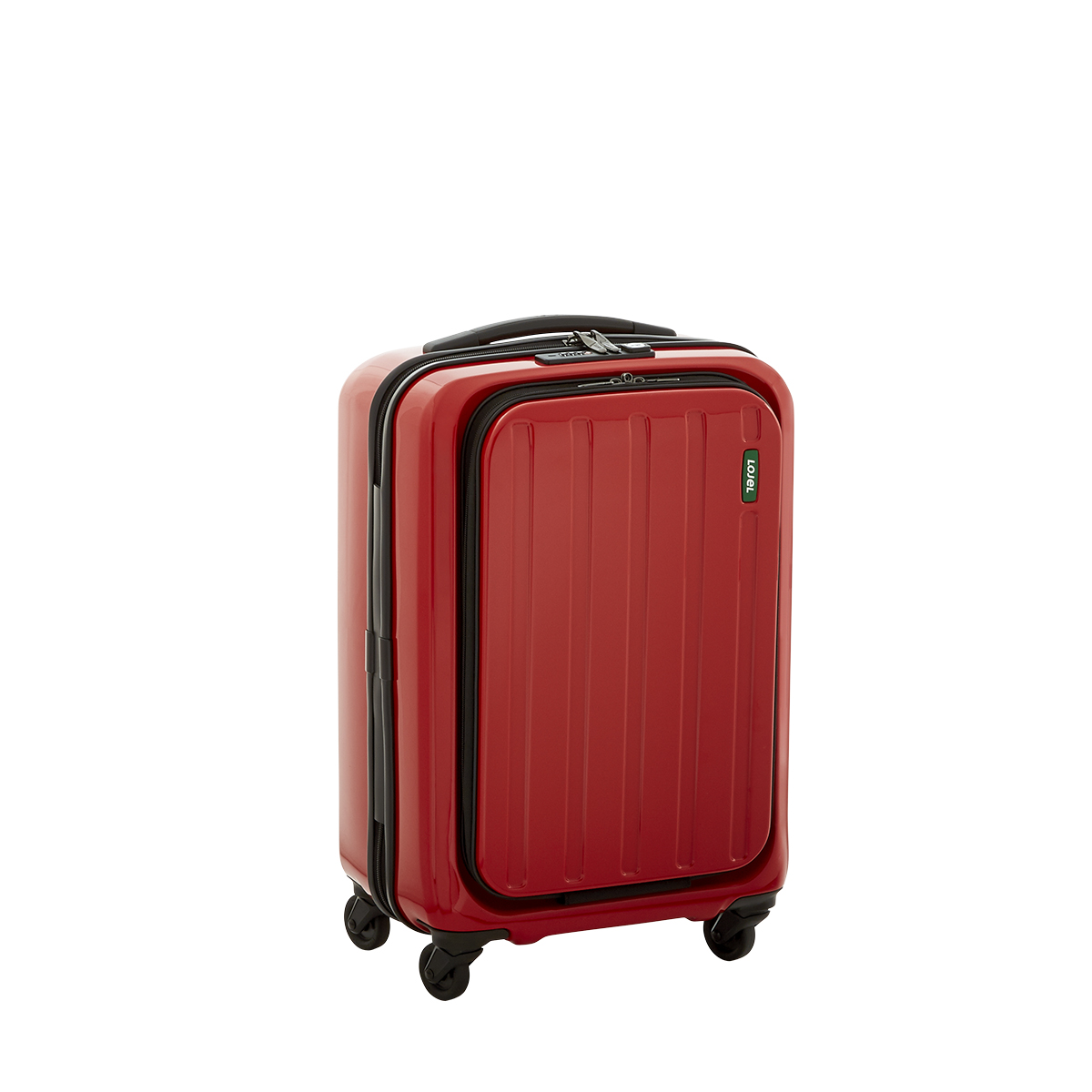 Red 20 Quot Lucid 4 Wheeled Luggage The Container Store