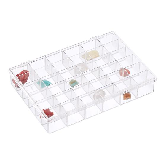 36-Compartment Clear Box