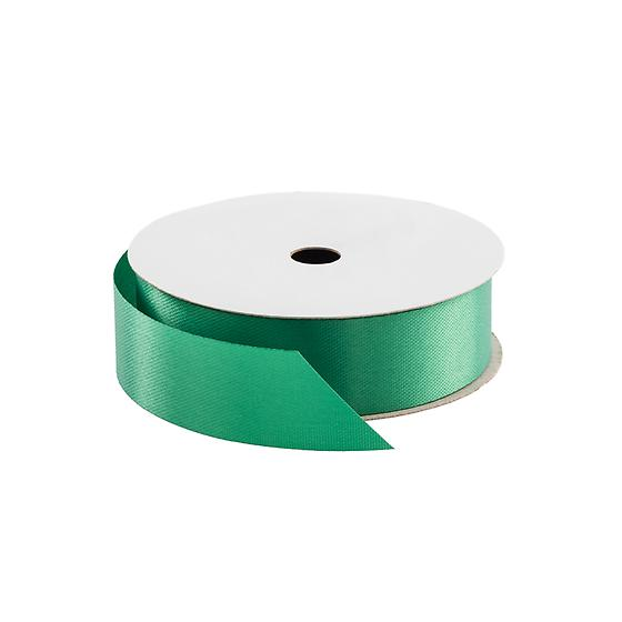 Holiday Green Satin Ribbon