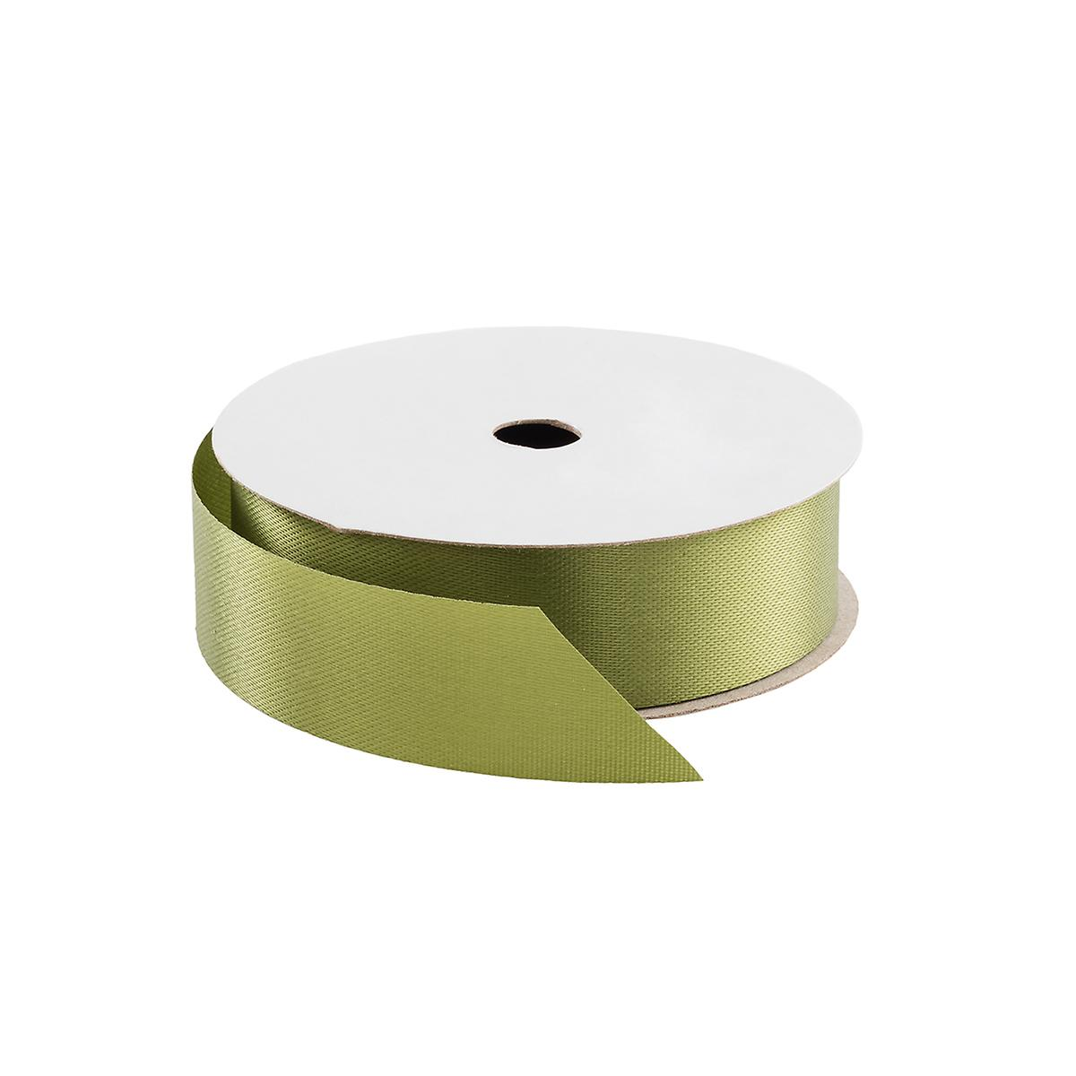 Moss Green Satin Ribbon