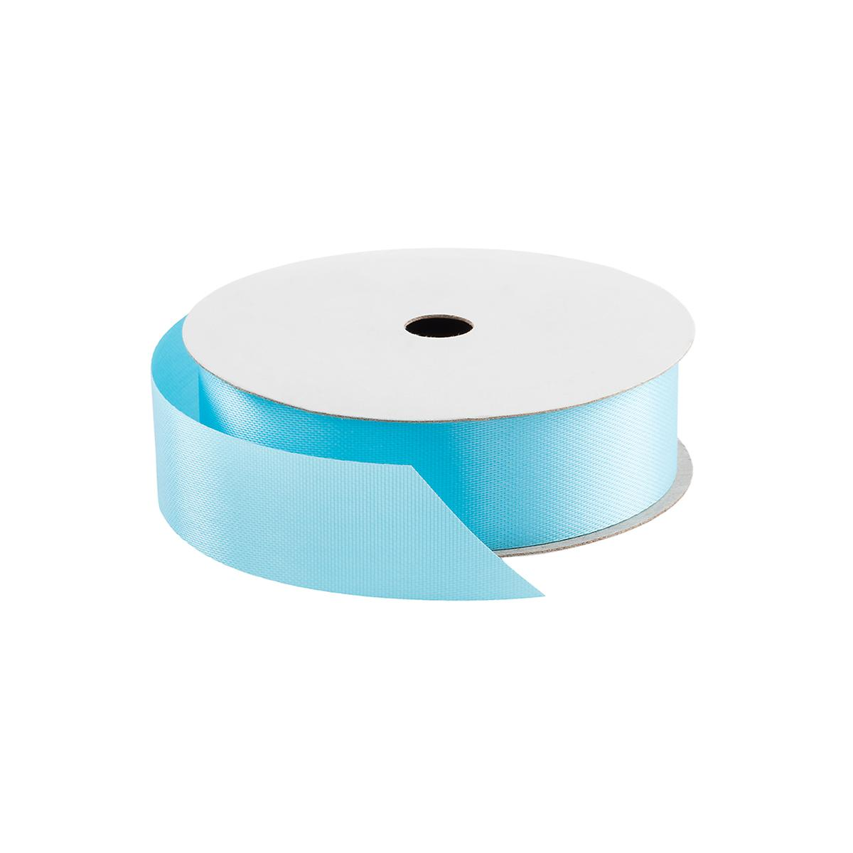 Caribbean Blue Satin Ribbon