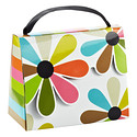 Multi Flower Candy Purse