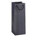Black Croc Craze Bottle Tote