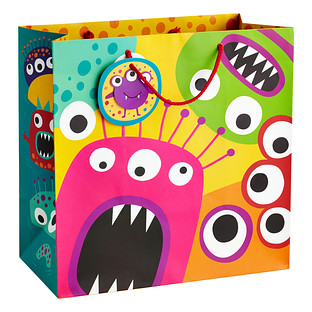 Large Monster Madness Gift Tote