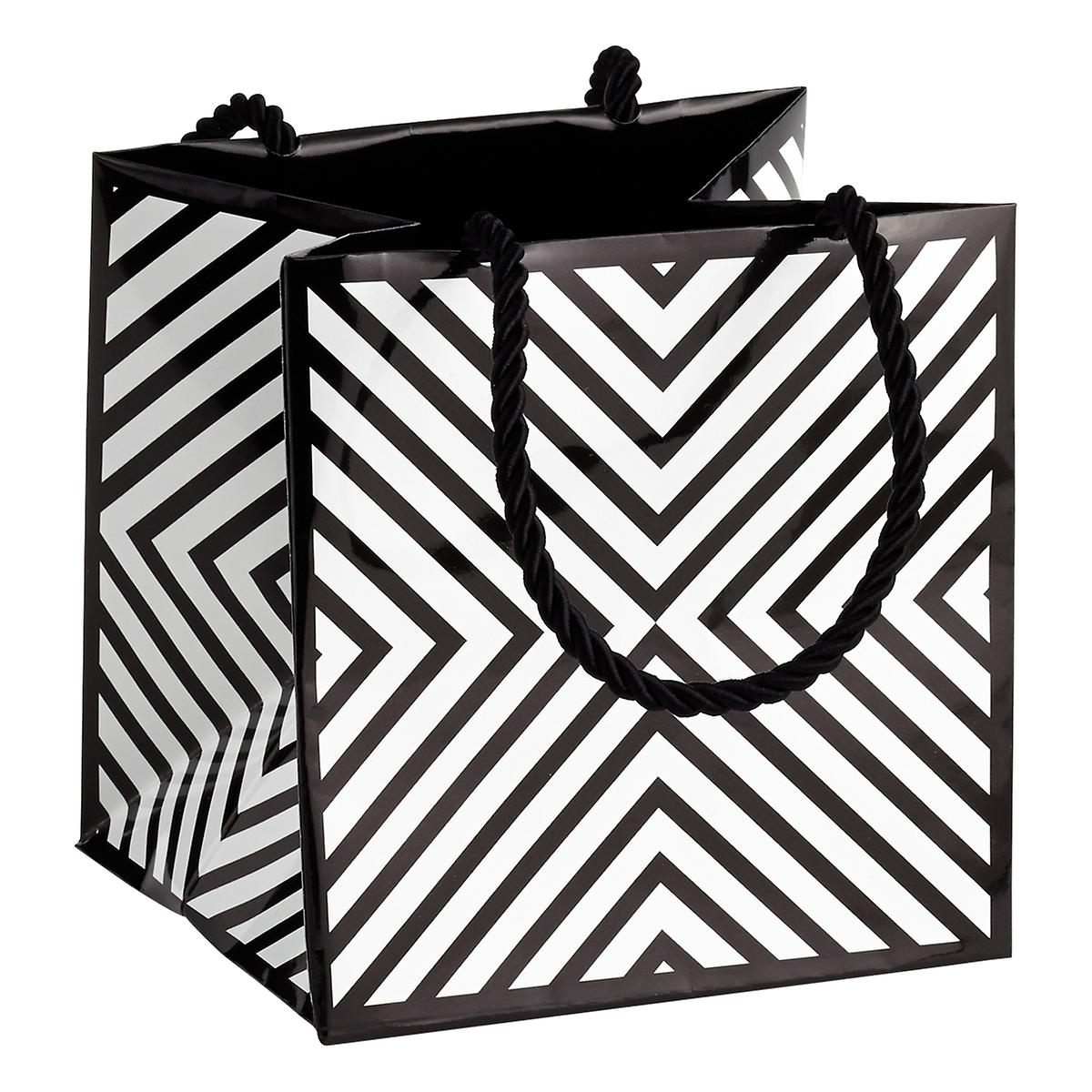 Small Chevron Square Gift Tote