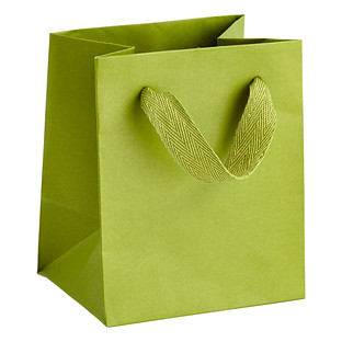 Mini Green Manhattan Recycled Gift Tote