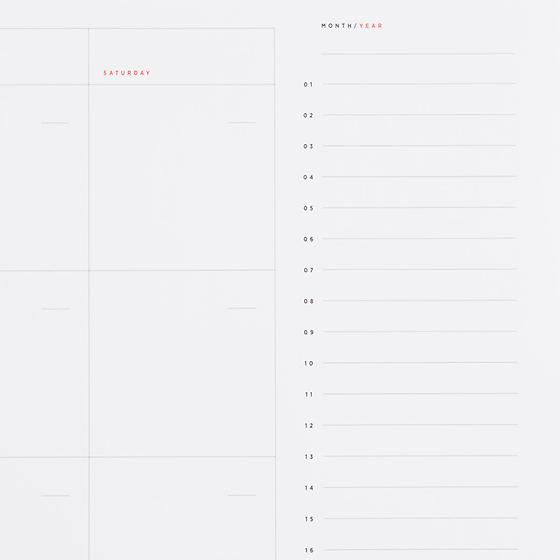 Desktop Calendar Sheets