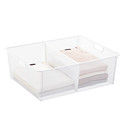 White elfa Mesh Drawer Dividers