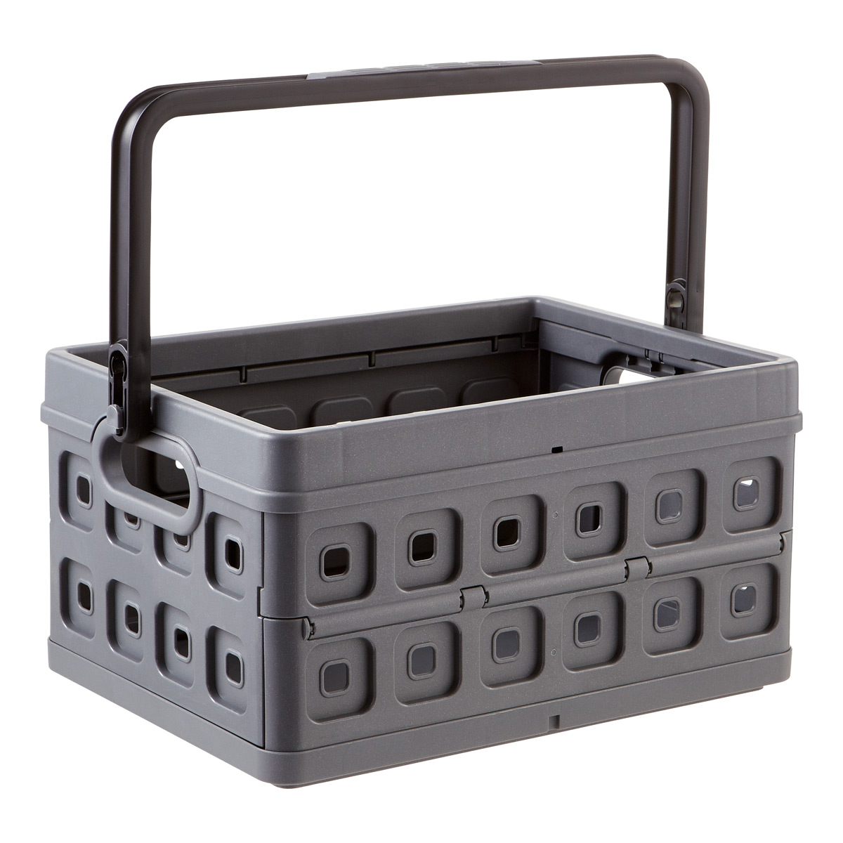 Collapsible Crates With Handles The Container Store