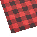 Red & Black Buffalo Check Tissue