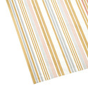 Metallic Stripes Tissue