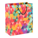 Medium Warm Prism Gift Bag