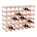 J.K. Adams Hardwood 40 Bottle Wine Rack