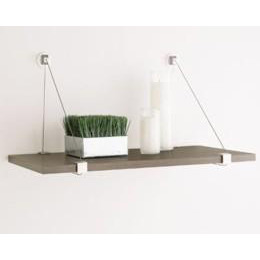 cable shelf brackets the container store. Black Bedroom Furniture Sets. Home Design Ideas