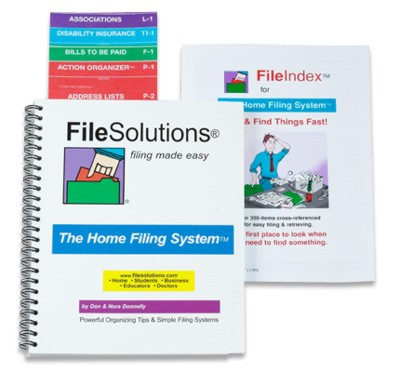 FileSolutions Home Filing System