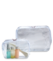 Clear Zippered Cubes