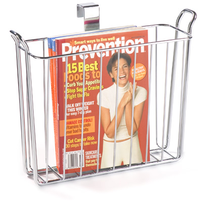 Classico Overtank Magazine Holder The Container Store