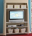 Intermetro® Canvas Entertainment Center