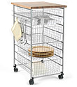 Platinum elfa Kitchen Cart