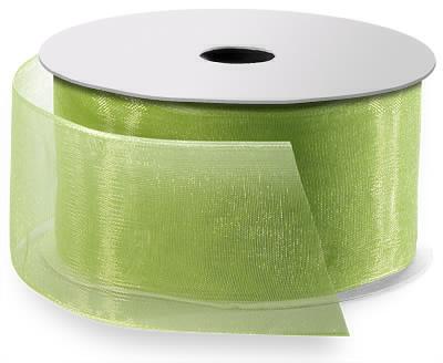 Chiffon Ribbon Lime