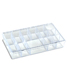 13-Compartment Box Clear