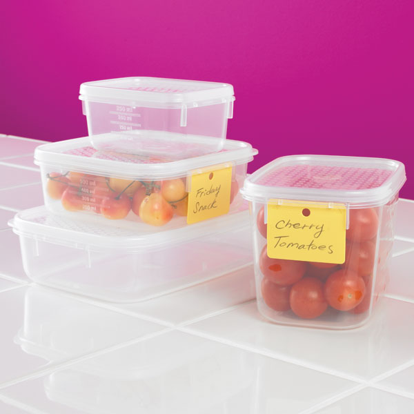 Tellfresh® Oblong Food Storage