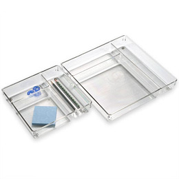 Linus™ 3-Section Drawer Organizers