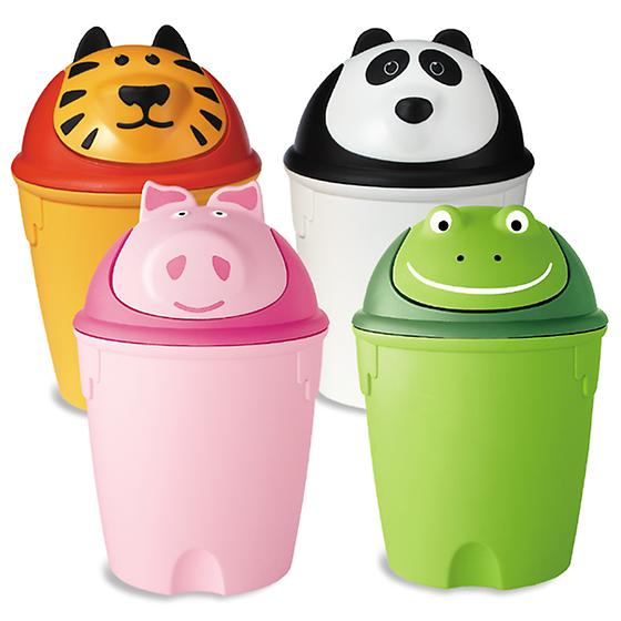 Animal Swing-Lid Cans