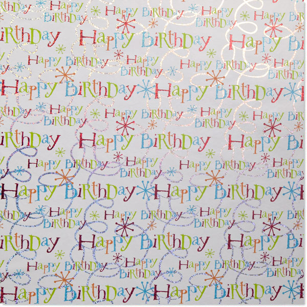 Happy Birthday! Gift Wrap
