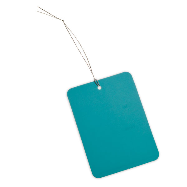 Rectangle Gift Tags Aqua Pkg/5