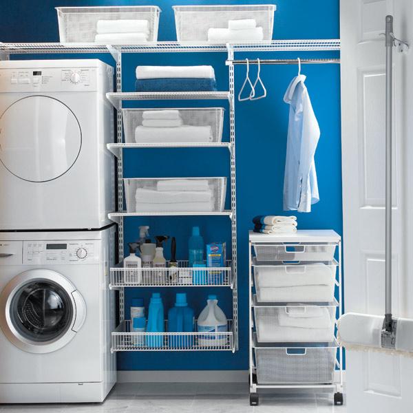 laundry, organized