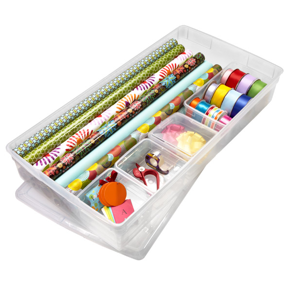 Set Up A Gift Wrapping Station Personal Organizer