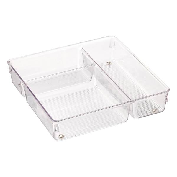 3-Section Drawer Organizer