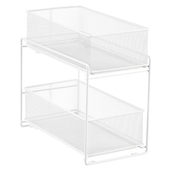 2-Drawer Mesh Organizer