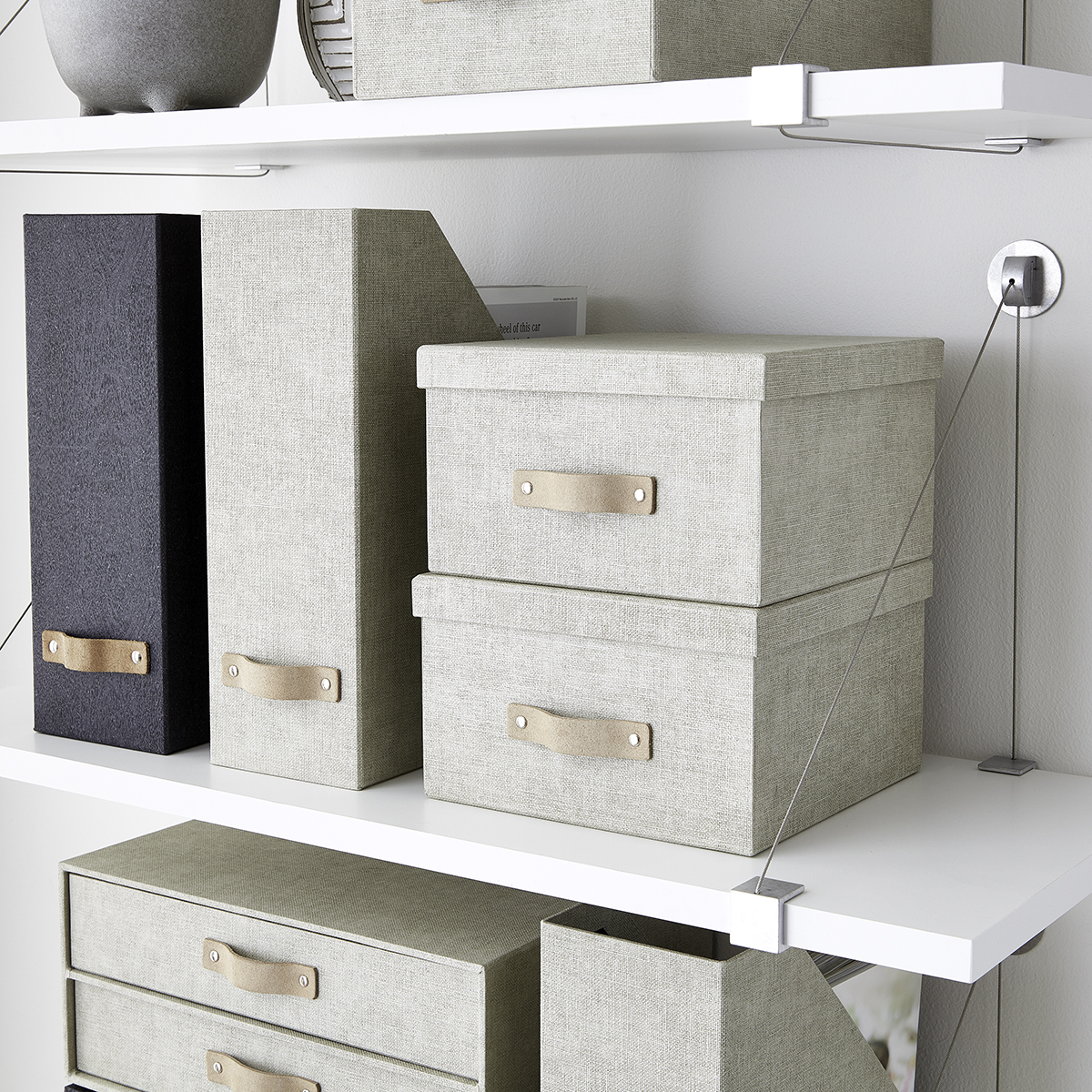 Shelf with Cable Brackets