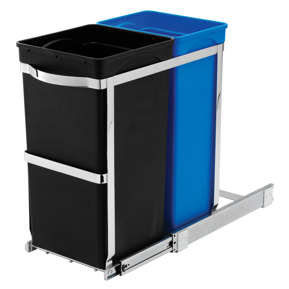 2-Bin Pull-Out Recycler